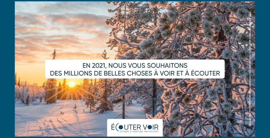 En 2021, nous vous souhaitons des millions de belles choses à voir et à écouter
